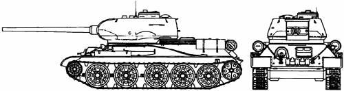 T-34-85 Model (1944)