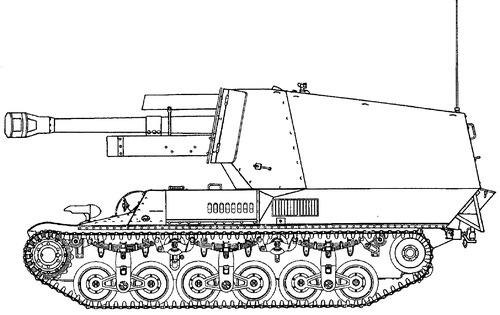 10.5cm le.F.H.184 (SF) auf Geschutzwagen Lorraine Schlepper (f)