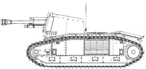 10.5cm le.F.H.18-3 (Sf) auf Geschutzwagen B2 (f)