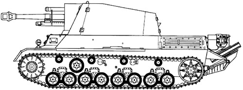 10.5cm le.F.H.18-40-2 (SF) auf GW III