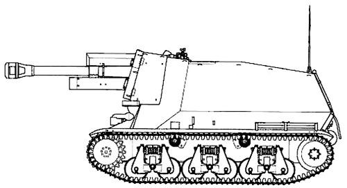 10.5cm le.F.H.18-4 (SF) auf GW 38H (f)