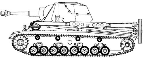 10.5cm le.F.H.18-6 (SF) auf GW III