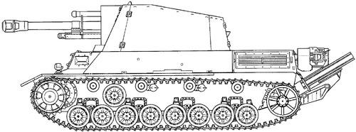 10.5cm le.F.H.2 (SF) auf Geschutzwagen IIIIV (1840)
