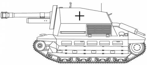10.5cm Le FH18 auf Geschutzwagen FCM (f)