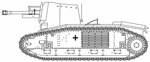 10.5cm le FH18(Sf) auf Geschutzwagen LrS
