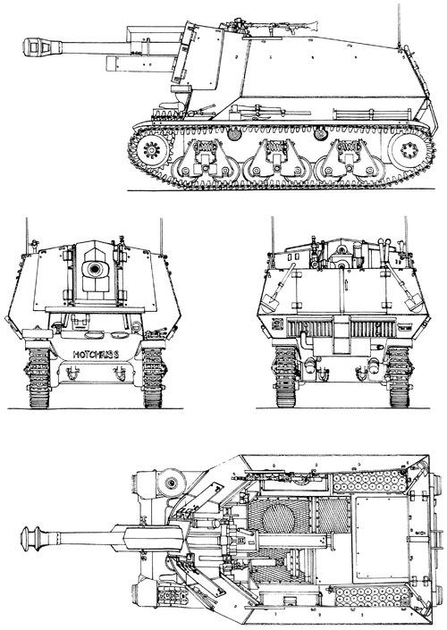 10.5cm leFH18(SF) Auf Geschutzwagen 39H(F)