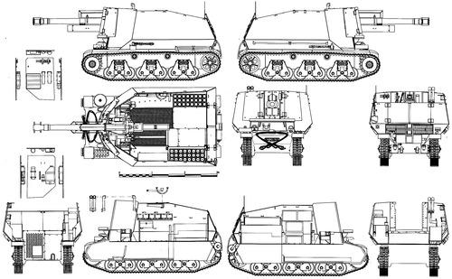 10.5cm leFH18 (SF) auf Geschutzwagen Hotchkiss 39H (f)