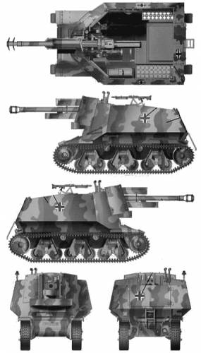 10.5cm leFH18(Sf) Self-Propelled Gun H36(f)
