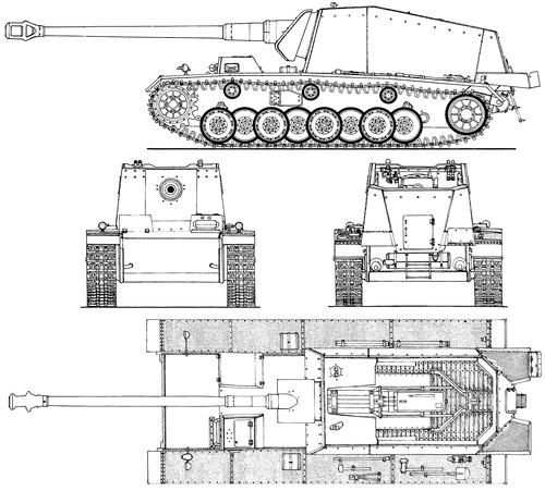 12.8 cm Selbstfahrlafette auf VK30.01(H) Max