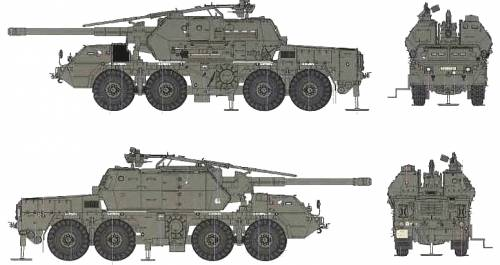 152mm ShKH Dana vz.77