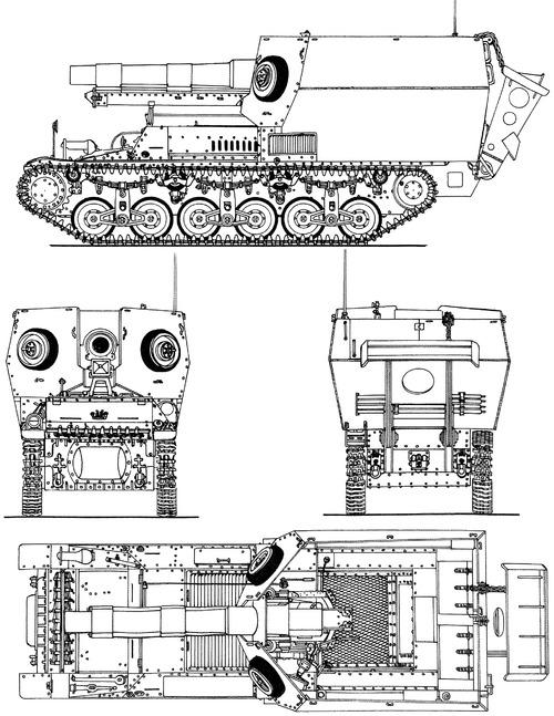 15cm sFH 131 (Sf) auf Geschutzwagen Lorraine-Schlepper (f)