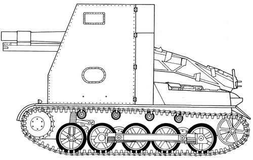 15cm sIG33-2 (sf) auf Pz.Kpfw.I Ausf.B