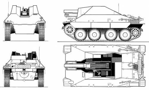15cm sIG33-2 (SF) Jagdpanzer 38(t)