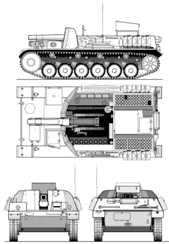 15cm sIG33 B (sf) auf Pz..Kpfw.II