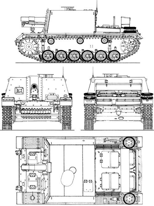 15cm sIG33 Sturminfanteriegeschotz 33B auf Pz.Kpfw.III