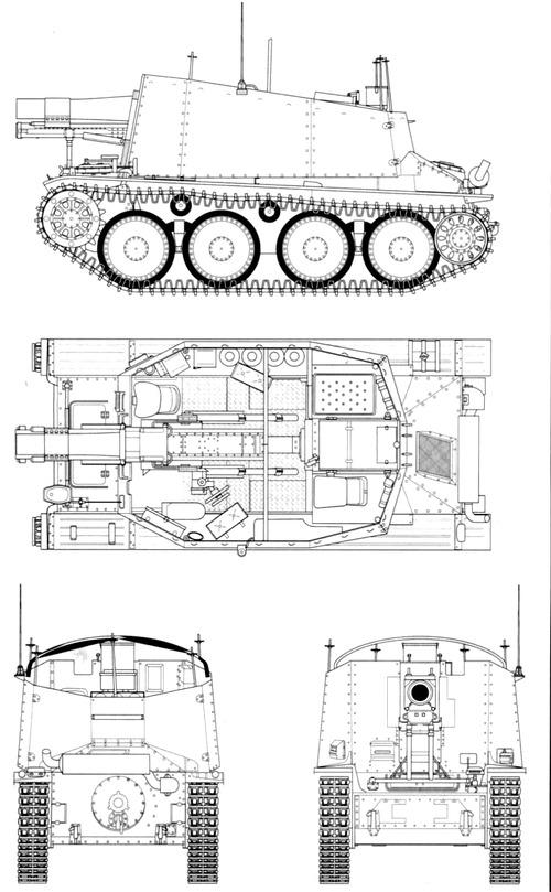 15cm SIG.33 auf Fgst.Pz.Kpfw.38(t) Ausf.H