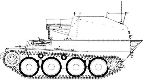 15cm SIG.33 auf Fgst.Pz.Kpfw.38(t) Ausf.M
