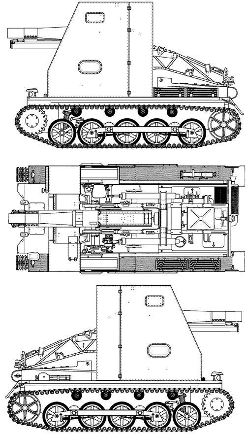 15cm sIG 33 auf Pz.Kpfw.I Ausf.B