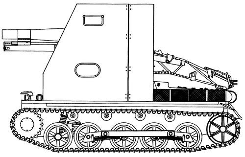 15cm SIG.33 auf Pz.Kpfw.I Ausf.B
