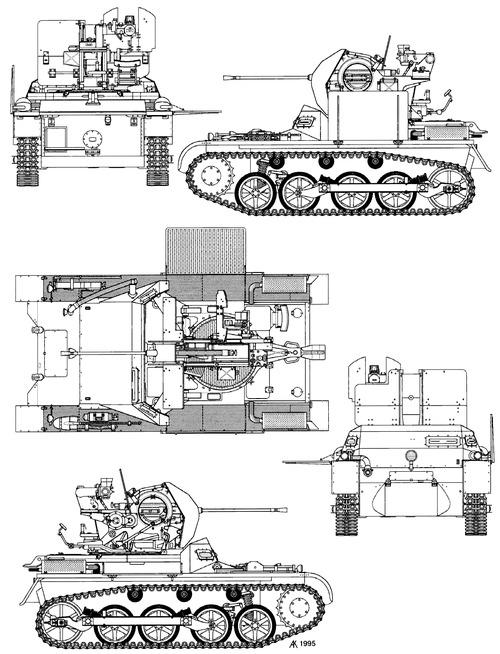 2cm Flak 38 (Sf) auf Pz.Kpfw.I Ausf.A