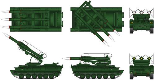 2K12 Kub SA-6 Gainful