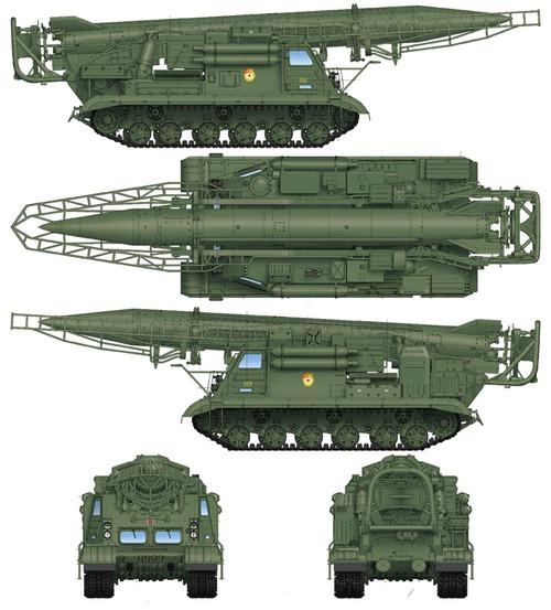 2P19 8K14 SS-1C Scud B