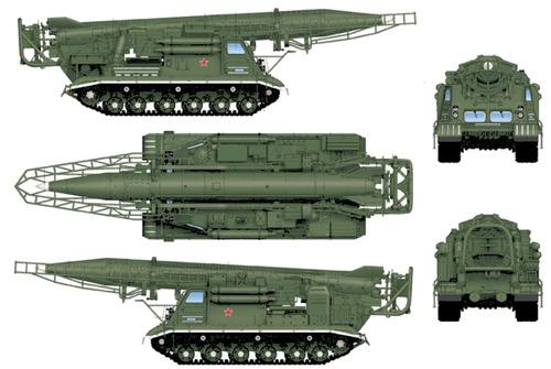 2P19 R-17M Elbrus SS-1 Scud-B