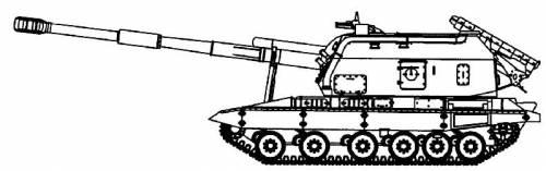 2S19 MSTA-S 152mm