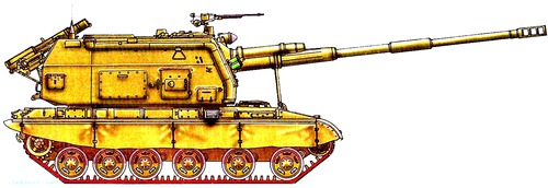 2S19 MSTA-S 155mm
