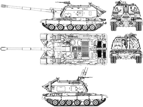 2S19 MTSA-S 152mm SPG