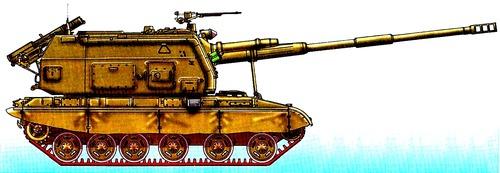 2S19M1 MSTA-S 155mm SPG