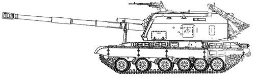 2S19M2 MSTA-S 152mm SPG