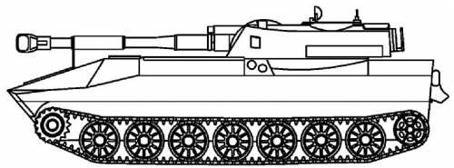 2S1 M-1974 Gvodzika 122mm