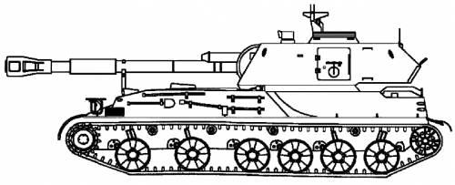 2S3 M-1973 Akatsiya 152mm