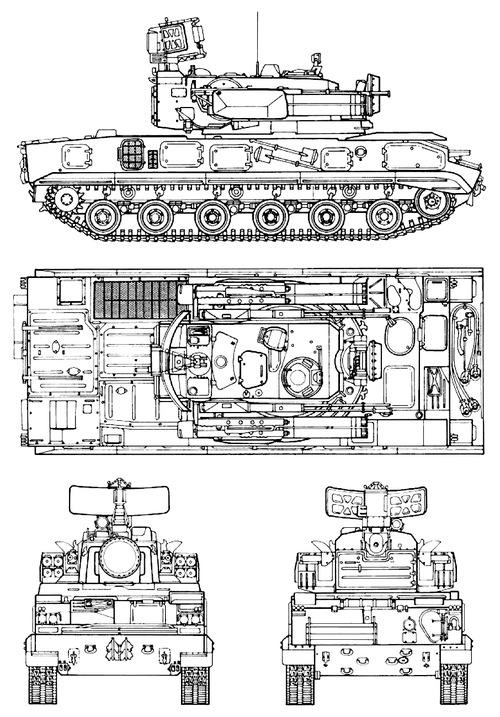 2S6 Tunguska 30mm [SA-19 Grison]