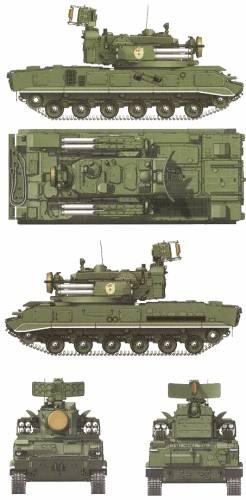 2S6M Tunguska