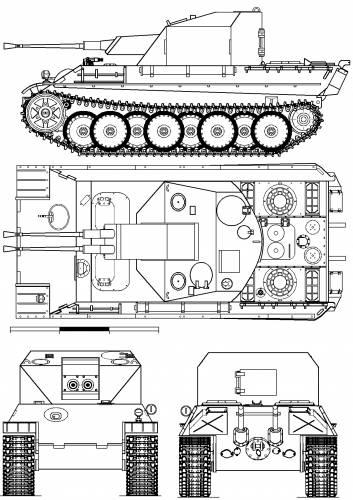 3.7cm Flakzwilling auf Panther Fahrgestell Flakpanzer-341