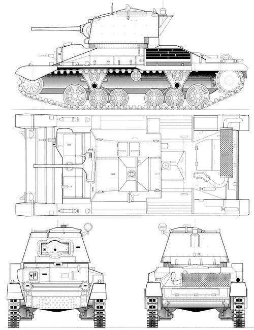 A10 Cruiser Tank Mk.IIA