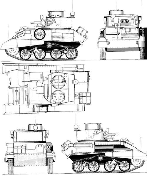 A10 Cruiser Tank Mk.IIB