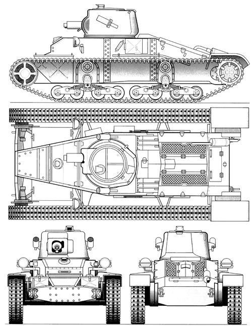 A11 Cruiser Tank Mk.I Matilda Mk.I