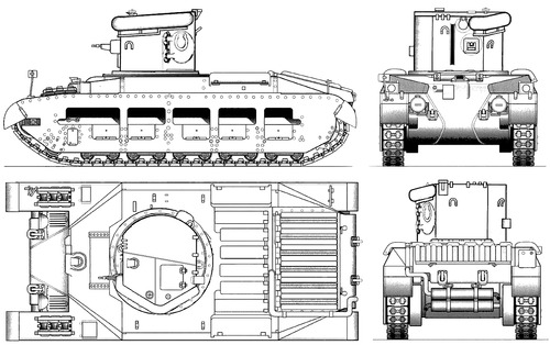A12 Matilda Mk.II CDL