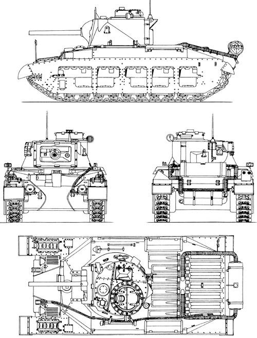 A12 Matilda Mk.II CS Infantry Tank