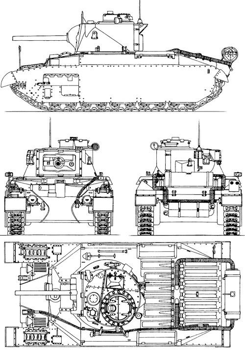 A12 Matilda Mk.II CS Infantry Tank 1939