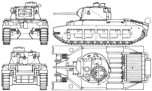 A12 Matilda Mk.II Infantry Tank