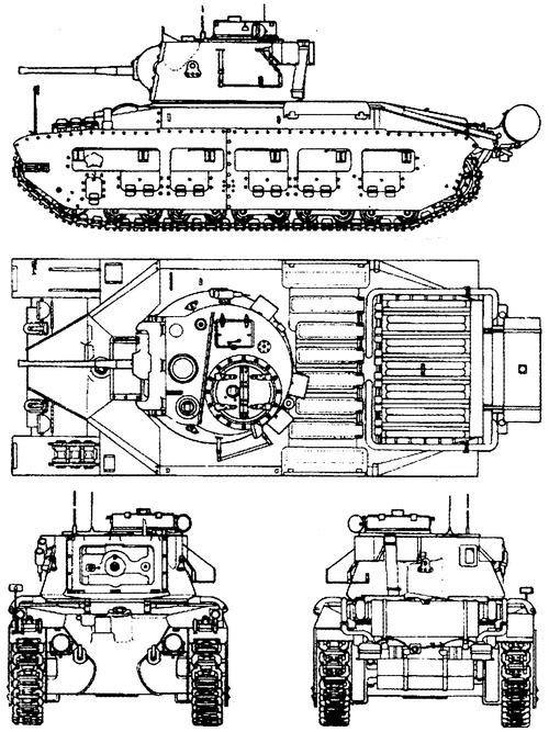 A12 Matilda Mk.II Infantry Tank Mark II