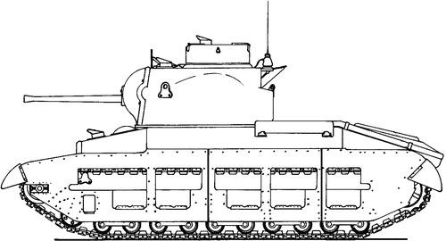 A12 Matilda Mk.II Infantry Tank Mk.II