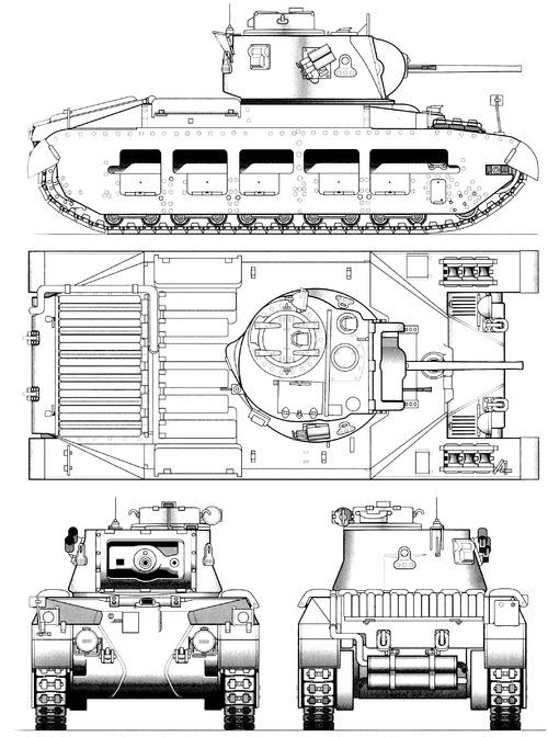 A12 Matilda Mk.II Infantry Tank Mk.IIA