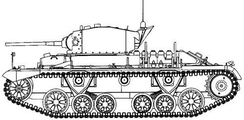 A12 Matilda Mk.II Infantry Tank Mk.III