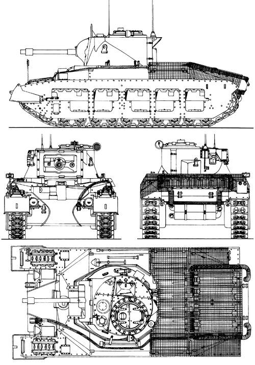 A12 Matilda Mk.II Infantry Tank Mk.IV Frog