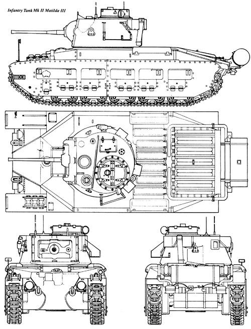 A12 Matilda Mk.III Infantry Tank Mk.II